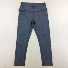 Crane & Lion Gray Cropped Leggings Athletic Pull On Yoga Exercise Pants Size 0