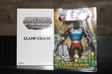 MASTERS OF THE UNIVERSE CLASSICS CLAMP CHAMP MOTUC MOC MINT He-Man ORIGINAL RARE