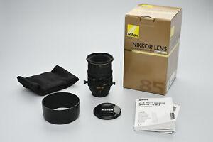 Nikon PC-E Micro Nikkor 85mm F/2.8D Tilt-Shift OVP