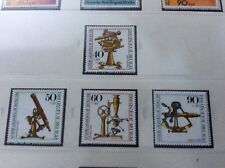 Berlin 1981 optical instruments  set of 4 unmounted  mint stamps