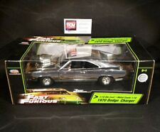 Joyride RC2 Ertl The Fast and Furious 1:18 1970 CHROME Dom's Dodge Charger