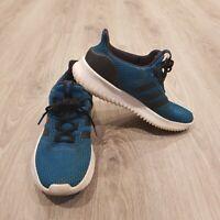 Adidas Neo Ultimate Cloudfoam Black Trainers Size Uk 7 / EU 40.5