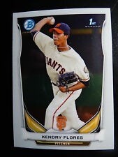 2014 Bowman Chrome BCP82 Kendry Flores San Francisco Giants Baseball Rookie Card