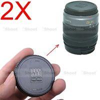 2x Rear Lens Cap Cover f Olympus Micro Four Thirds M.Zuiko Digital 9-18/4.0-5.6