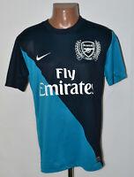 ARSENAL LONDON 2011/2012 AWAY FOOTBALL SHIRT JERSEY NIKE SIZE M ADULT