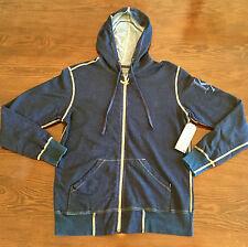 Kinetix Zip Hoodie in Navy Blue Mens size M NWT