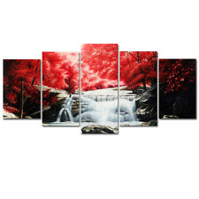 Canvas Art Print Painting Reproduction Home Decor Poster Landscape Woods Framed
