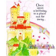 PRINCESS Birthday Girl INVITATIONS (8) ~Party Supplies Invites Notes Cards