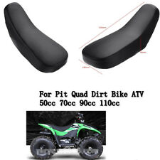 BLACK Foam Seat 50cc 70cc 90cc 110cc Racing Style QUAD DIRT BIKE ATV 4 Wheeler