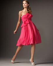 $1,895 ❤ Redux Charles Chang-lima Runway Strapless Oscar Silk Dress Sz 38 2-4