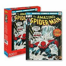 Marvel Spiderman Cover 500 Piece Puzzle Jigsaw