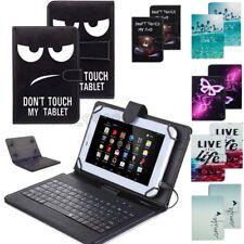 AU For Samsung  Galaxy Tab A 8.0 T350 T355 P350 USB Keyboard Leather Case Cover