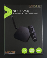 MINIX NEO U22-XJ Android TV BOX Mini PC Wireless WiFi HDMI HDR 4K Media box