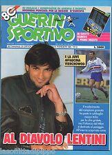 GUERIN SPORTIVO-1992 n.28- LENTINI-MANCINI-PARI -NO INSERTO OLIMPIADI