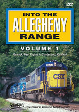 Into The Allegheny Range Volume 1 DVD NEW PENTREX Hancock WV to Cumberland MD