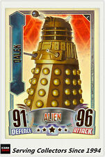 2012 Topps Doctor Who Alien Attax Collectors Card Rainbow Foil#4 Alien Dalek