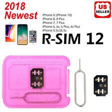 RSIM 12+ 2018 Unlock Nano Sim Card for iPhone X 8 7 6S 6 Plus 5S SE 4G iOS 11.4