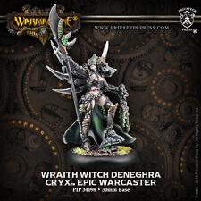 Warmachine BNIB Cryx Epic Wraith Witch Deneghra RESCULPT 34098