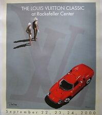 "Hand-Signed Razzia ""Louis Vuitton Classic at Rockefeller Center"" on Linen"