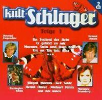 KULT-SCHLAGER FOLGE 1 2 CD MIT BERNHARD BRINK UVM NEU
