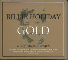 Billie Holiday - Gold - 60 Original Classics (3CD 2015) NEW/SEALED