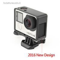Standard Frame Border Housing Case Mount For GoPro Hero 3 Hero 3+ Hero 4 Black