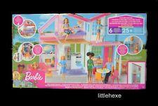 XXL casa delle bambole Dream Villa BARBIE casa casa delle bambole bambole tube in legno con mobili