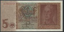 Germania, 5 Marco, 1.8.1942, P-186a.