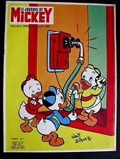 Le journal de Mickey N° 1098 du 7 /1973 -Walt Disney Edi-Monde