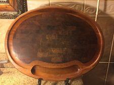 "NISSEN Denmark Vintage Oval Cutting Board  19"" X 14 1/2"""