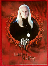 HARRY POTTER & GOBLET OF FIRE - Card #19 - LUCIUS MALFOY - CARDS INC. 2005