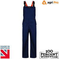Alpha Solway Agri Pro Lightweight Durable Waterproof Bib and Brace Trousers Farm
