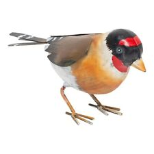 Goldfinch Metal Garden Bird Ornament