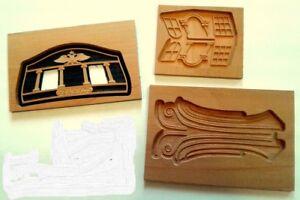 Set:  MK0401-3D1 &  MK0401-3D2 & MK0401-3D3  Wood decor  for Brigantine Phoenix
