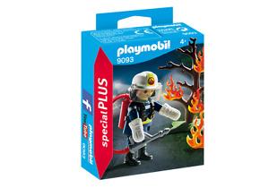 playmobil SPECIAL PLUS N° 9093 # Feuerwehr - Löscheinsatz # Feuerwehrmann ~ neu