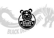 Baby On Board Funny JDM Drift Cute Car Van Window Vinyl Decal Car Sticker