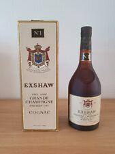EXSHAW N°1 TRES RARE GRANDE CHAMPAGNE PREMIER CRU - Cognac - 70 cl - 40 %
