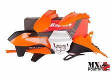 KIT PLASTICHE COMPLETO ENDURO KTM 350 EXC F 2014-2016 POLISPORT P90617  COLORE O