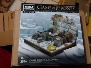 *New Sealed* MEGA CONSTRUX GAME OF THRONES Castle Black GMW37 307 pcs  BOX GOT2