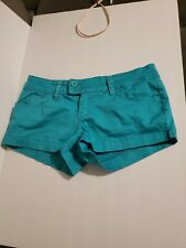 YMI Size 7  Green Shorts! Great Condition See pics.