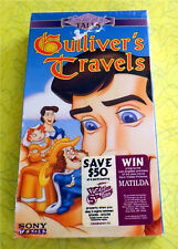 Enchanted Tales - Gulliver's Travels ~ New VHS Movie ~ Animated Cartoon Video