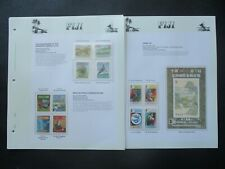 ESTATE: Fiji Collection on Pages, Great Item! (p2796)