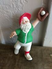 1990 Hallmark Santa North Pole Nicks Baseball Christmas Ornament No Box