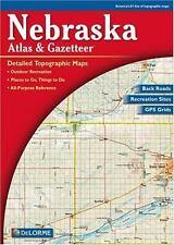 Atlas and Gazetteer: Nebraska Atlas and Gazetteer (2000, Map, Other)