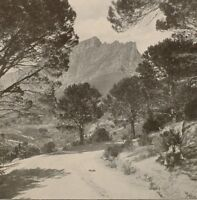 1899 Aufdruck Colonial South Afrika Kloof Straße Umhang Stadt Tisch Berge