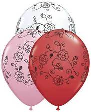 Flowers in Bloom Latex Balloons Happy Valentines Day Party Decor Quinceanera 11""