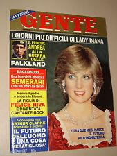 GENTE=1982/17=LADY DIANA=GIANCARLO DETTORI=LODOVICO ROCCA=SEMERARI=BEATRICE CORI