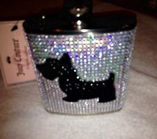 Juicy Couture NWT stainless Steel Flask 7oz MSRP $24 FREE shipping