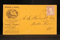 New Hampshire: Concord ca. 1858 #26 Morrill Silsby Printers Advertising Cover