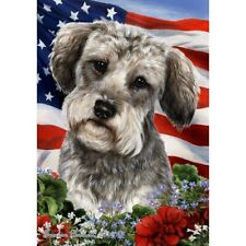Patriotic (1) House Flag - Schnoodle 16474